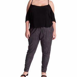NWT Susina Geo Print Drawstring Pants Lightweight